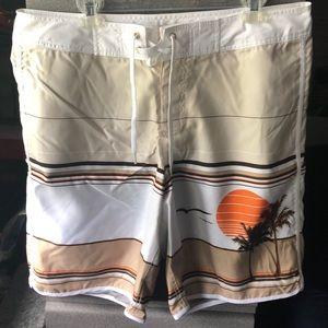 Old Navy board shorts.